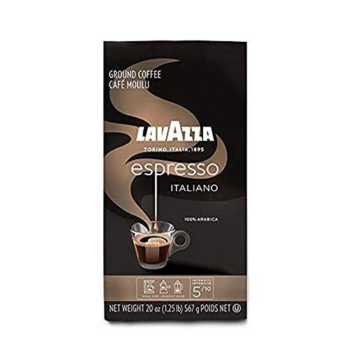Lavazza Espresso Italiano Ground Coffee 100% Arabica 20 Oz Soft Bag Espresso Italiano 20 Oz