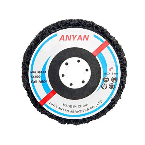 Yardwe Diamant Polijsten Pads Grinder Hoek Grinder Rotary Tool voor Graniet Beton Marmeren Steen Aanrechtblad Tegel Vloer Grinder of Polijstmachine