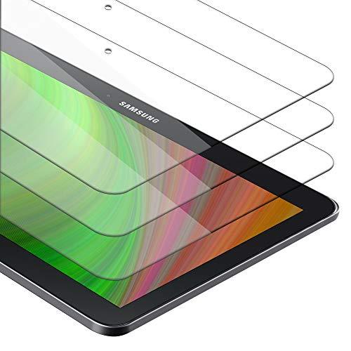 Cadorabo 3x Panzer Folie für Samsung Galaxy Tab 4 (10.1