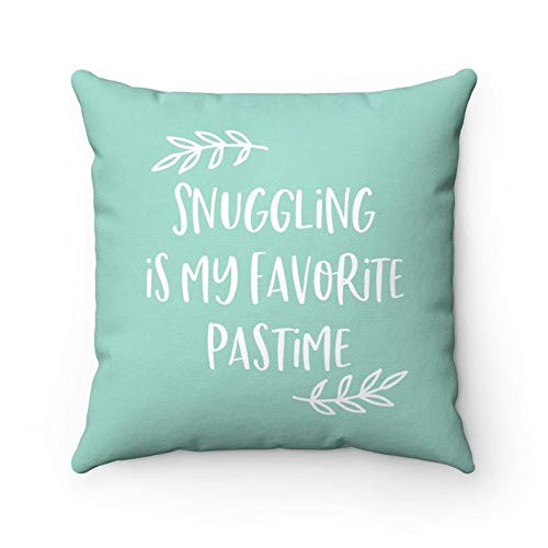 Blafitance Snuggle Pillow Snuggling Pillow Snuggle Quotes Bedroom Pillows Bed Pillows Cute Pillows Teal Pillow Cuddle Pillow Cuddle Bed Decor Wantitall