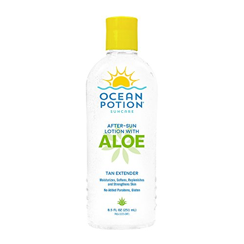Ocean Potion After-Sun Lotion with Aloe, 8.5 Ounce