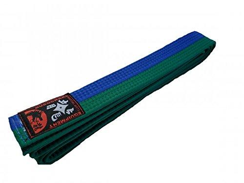 Budogürtel grün-blau halb-halb-gestreift (240)