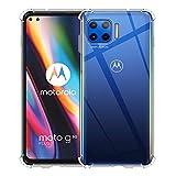 Aerku Hülle für Motorola Moto G 5G Plus, [Kratzfest]