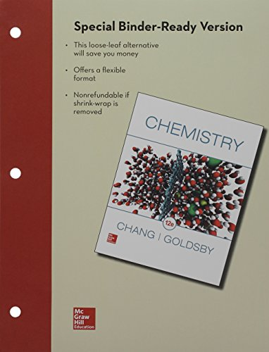 Package: Loose Leaf Chemistry with Connect 1-semester Access Card