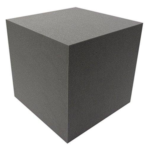 Akustikpur - AKUSTIK WÜRFEL (40x40x40) SCHALL ABSORBER DÄMMUNG SCHWARZ
