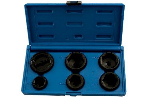 Laser 5123 Kit de clés pour Filtre à Huile 6 pièces