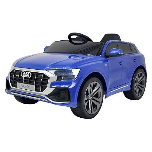 Happy Garden Voiture électrique Audi Q8 - Bleue