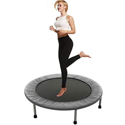 Balanu Hosmat 40 Inch Mini Exercise Trampoline for Adults or Kids - Indoor Fitness