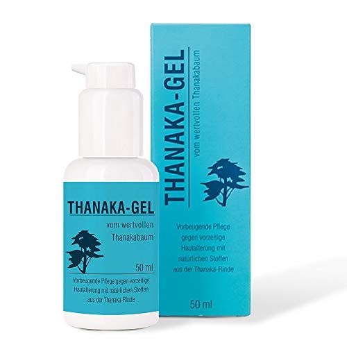 Pharma-Peter THANAKA Gel mit echtem Extrakt unterstützt den natürlichen Eigenschutz gesunder Haut, 50 ml