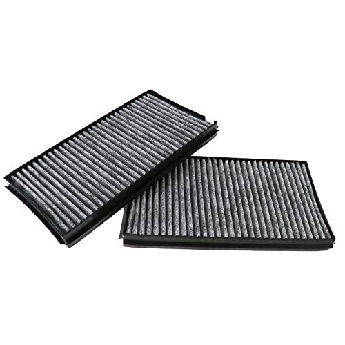 OTOTEC 2x Carbon Style Cabin Luchtfilters Voor E60 E63 5 & 6 Serie 64316935823