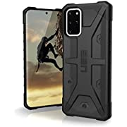 URBAN ARMOR GEAR UAG Designed for Samsung Galaxy S20 Plus 5G Case [6.7-inch Screen] Pathfinder [Black] Rugged Shockproof Military Drop Tested Protective Cover