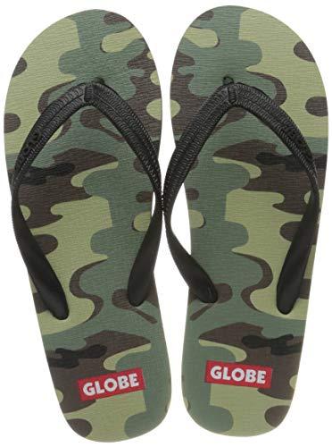 GLOBE Army, Zapatos de Playa y Piscina Hombre, Multicolor (Camo 19700), 43...