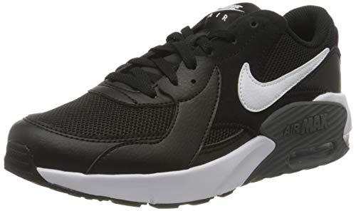Nike Air MAX Excee (GS), Zapatillas Unisex Niños, Negro/Blanco-Gris Oscuro, 35.5 EU