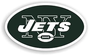 NFL New York Jets 12-Inch Vinyl Logo Magnet