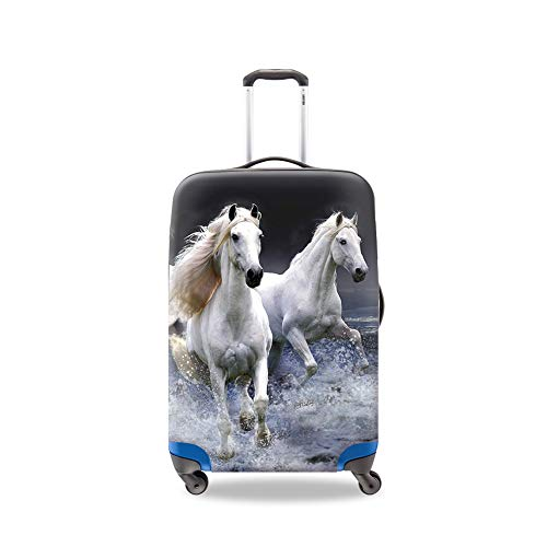 crazytravel Maleta Trolley de funda cubre Protectores de equipaje para viaje