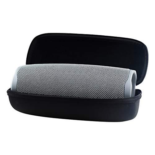 Deng Xuna Tasche für Tragbarer Bluetooth Lautsprecher, Eva Hart Fall Taschen Reise Tragen Lagerung Robustes Hülle Hartschalen Schutzhülle Tragetasche Hard Storage Carry Case (Schwarz)
