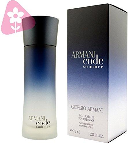 Giorgio Armani Armani Code Summer Pour Homme 2.5 oz Eau Fraiche Spray
