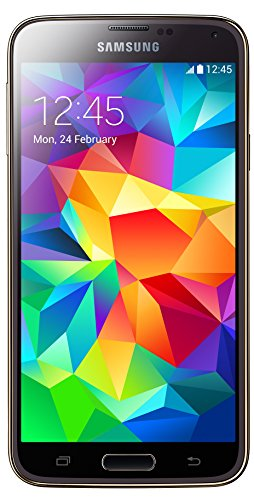 Samsung Galaxy S5 Smartphone (12,95 cm (5,1 Zoll) Touch-Display, 2,5 GHz Quad-Core Prozessor, 16 MP Kamera, Android 4.4 OS) Copper-Gold