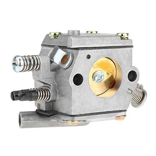 Nrpfell Carburador para 038 038Av Ms380 Ms381 con Carburador de Sierra de Cadena Del Compensador