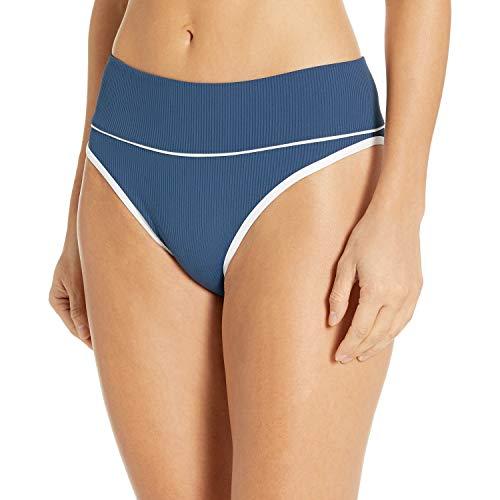Rip Curl parte inferior de bikini con cintura alta para mujer -  Azul -  Medium