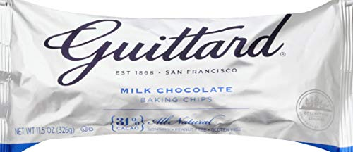 Guittard Baking Chips, Milk Chocolate, 11.5 covid 19 (E Guittard Chocolate Milk coronavirus)
