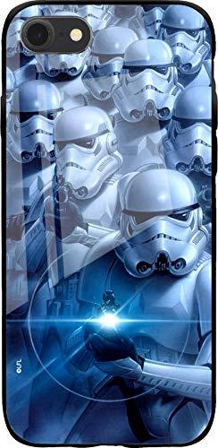 Funda de TPU Original de Star Wars para iPhone 7, iPhone 8, iPhone SE2, Funda de Silicona líquida, Flexible y Delgada, Protectora para Pantalla, a Prueba de Golpes y antiarañazos
