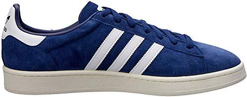 adidas Unisex-Erwachsene Campus Sneakers, Blau (Dark Blue/Footwear White/Chalk White), 42 2/3 EU