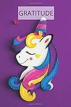 Gratitude: For collecting goals gratitude unicorn practice journal