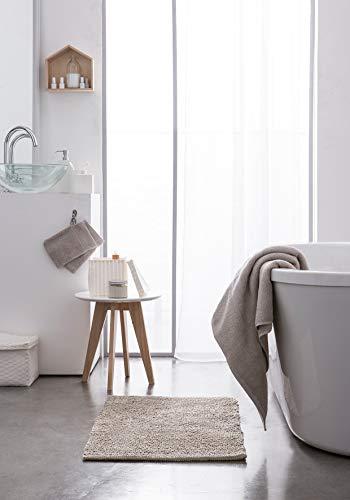 Today 257619 Premium Lot de 2 Gants de Toilette Coton Beige 16 x 21 cm, 100% 600 g/m2