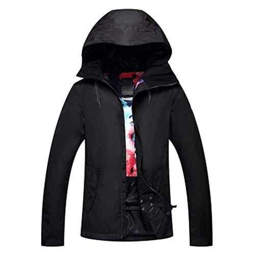 Pu ski suits Veste Imperméable Veste Coupe-Vent for Femme Softshell Snowboard Camping Randonnée Veste Mountaineer (Color : B, Size : L)