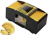 Best Card Shufflers - Automatic Card Shuffler,2 Decks Poker Shuffler Portable Card Review
