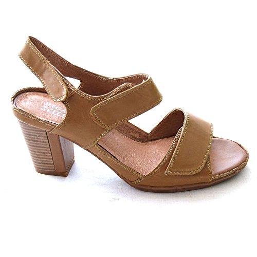 Regarde Le Ciel Menorca 03 Señoras Sandalia Vestido Moderno Wood 40