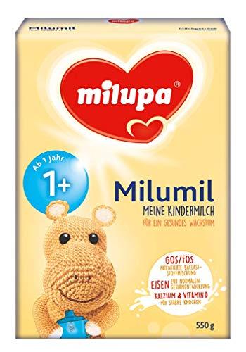 Milupa Milumil Meine Kindermilch 1+ ab 1 Jahr, 1er Pack (1 x 550 g)