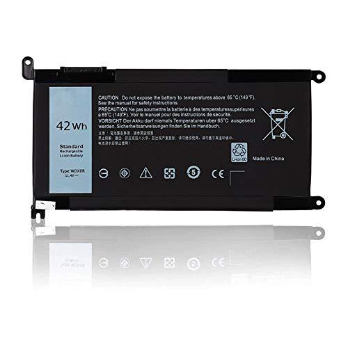 Huiyuan 42Wh 11.4V WDX0R T2JX4 Laptop accessories Compatible for Dell Inspiron 15 5568 5567 7560 13 7368 17 5767 5765 3CRH3 I7368-0027 WDXOR CYMGM