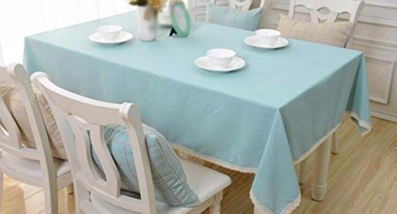 SCLOTHS Coton européen Simple décoration de Table de Salle à Manger,diamètre 200cm