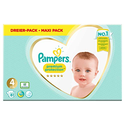 Pampers Premium Protection Größe 4, Windel x81