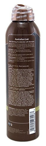 Australian Gold Continuous Tanning Spray 6 Ounce Accelerator (177ml) (3 Pack)
