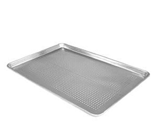 "ALUMINUM SHEET PANS - DOZEN - BAKE - BAKING (18"" X 26"" FULL SIZE PERFORATED)"