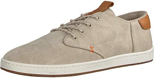 Hub Herren Chucker 2.0 Low-Top Sneaker, Beige, 44 EU