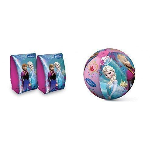 Lively Moments Schwimmflügel und Wasserball mit  Disneys Frozen  Anna und ELSA