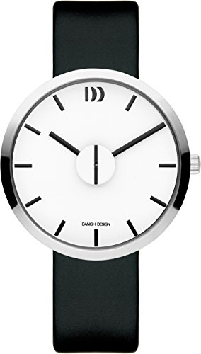 Danish Design Unisex Erwachsene Analog Quarz Uhr mit Leder Armband IQ12Q1198