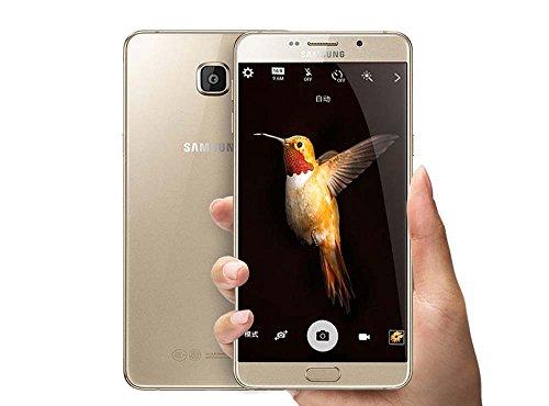 Samsung Galaxy A9 Pro (A9100) 32GB Gold (Factory Unlocked Intl. Model) No Warranty, GSM (no Sprint or Verizon or Other CDMA Support)