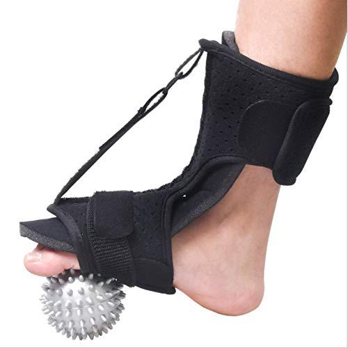 Appearanice Férula de liberación Nocturna de Fascia Plantar de órtesis de pie Ajustable para Hombres y Mujeres