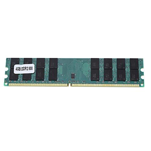 Módulo de Memoria DDR2, módulo de Memoria DDR2 PC2-6400 de 4GB Plug and Play 800MHz Transmisión rápida de Datos Ram de...
