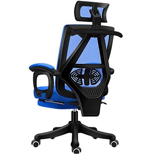 Bürostuhl Ergonomischer Stuhl Spiel Racing Stil Bürostuhl Verstellbarer Bürostuhl black2