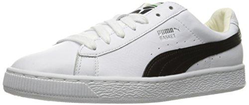 PUMA Damen Basket Classic LFS WN Fashion Sneaker, Weiá (weiß/schwarz), 39 EU