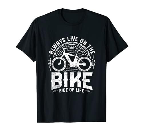 Bicicleta eléctrica con frase divertida, diseño de bicicle