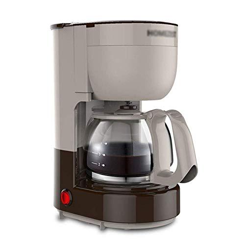 SXXYTCWL Máquina de café, Amoladora de café para el hogar portátil, máquina de té de Tipo de Goteo automático, Plata jianyou (Color : Gray)