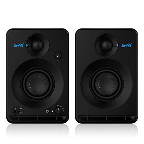 Estudios Monitor Altavoz Moukey Bluetooth Sistema de Audio Altavoz Monitor de Escenario 2.0 Estéreo 3