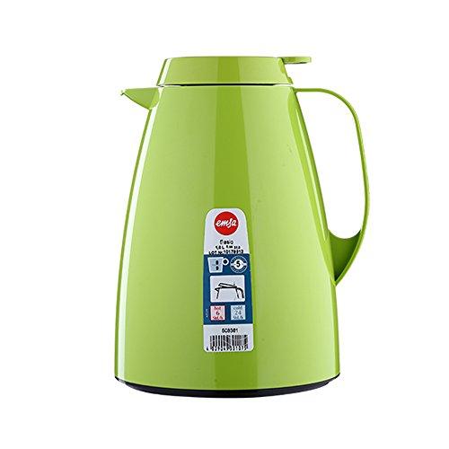 Emsa 508361 Isolierkanne, Thermoskanne, 1l Füllvolumen, Kaffeekanne, Quick...